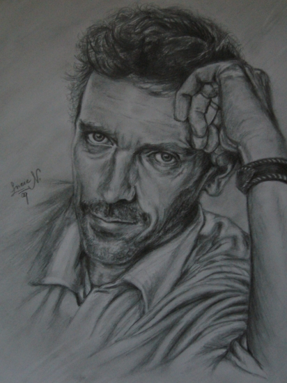 Hugh Laurie by luca